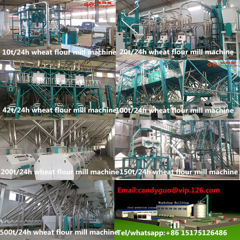 Flour mill machine for Ethiopia